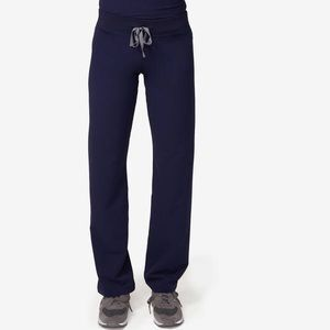 Figs Livingston Scrub Pants, Navy, M Petite